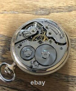 VINTAGE HAMILTON POCKET WATCH 17 JEWELS with Fahys Montauk Case Gold Filled NICE
