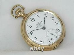 Very Early 18s Ball Hamilton 999 17 Jewel Orrs Watchwatch Second Run, Running