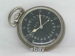 Very Rare Hamilton Military 4992b Gct Clean, Original. 800 Silver, Running