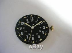 Vietnam War US military 1969 issued men's watch, GG-W-113 Specs Hack