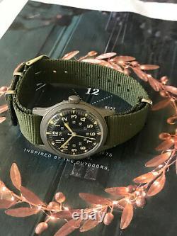 Vietnam War US military 1971 issued Hamilton military men's watch, Cal 685 Hack