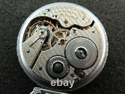 Vintage 16 Size Hamilton 992 Pocket Watch 21 Jewels Lever Set Railroad 1919