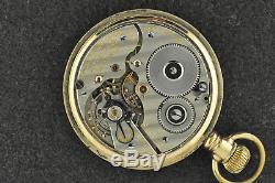 Vintage 16 Size Hamilton Elinvar 992e 21jewels Pocket Watch
