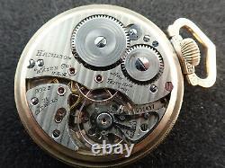 Vintage 16 Size Hamilton R. W. Sp. Pocket Watch Grade 992b 1941 Keeping Time