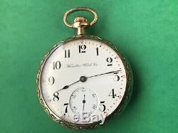 Vintage, 16s, Hamilton 972, 17jewel pocket watch, running