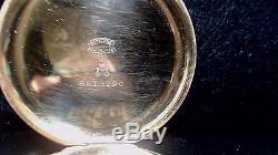 Vintage 1918 Hamilton Pocket Watch Model 950 23 Jewel Size 16