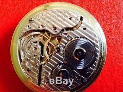 Vintage 1929 Hamilton 992 14k Gf 21j Railroad Grade Pocketwatch 16s