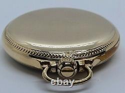 Vintage 1932 HAMILTON 974 Special 10K G. F. Montgomery Dial 17J RR Pocket Watch