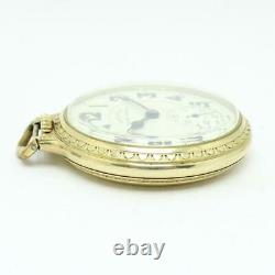 Vintage 1941 Hamilton Railroad Special 992B 21j 16s Pocket Watch CLEAN & RUNNING