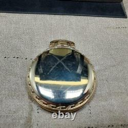 Vintage 1947 Hamilton 16s Gf. Railway Special Pocket Watch Runs G 992b