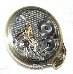 Vintage 1952 HAMILTON Railway Special 21J Railroad Grade 992B Pocket Watch 10k