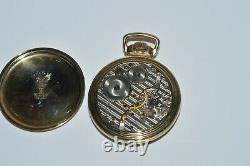 Vintage 1952 Hamilton Railway Special 21 Jewel Pocket Watch 10K Gold Filled 992B