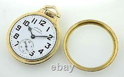 Vintage 1966 Hamilton Railway Special 992 B 10k Gold Filled Pocket Watch