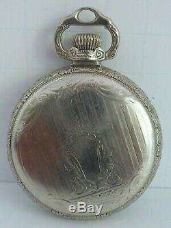 Vintage 21j BALL HAMILTON OFFICIAL RAILROAD STANDARD Pocket Watch with BALL CASE