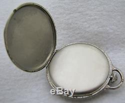 Vintage Art Deco Hamilton Masterpiece 23j 23 Jewel 14k Gold Filled Pocket Watch