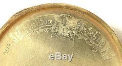 Vintage HAMILTON Pocket Watch 14K Solid Gold Case 12S 21J Mod. 904 23 Grams Runs