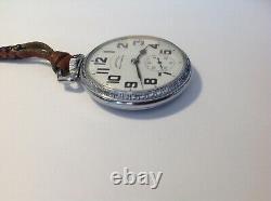 Vintage Hamilton 16 Size 992b Pocket Watch