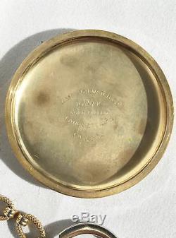 Vintage Hamilton 21 Ruby Jewel Railway Special Pocket Watch 10K Gold Filled L240