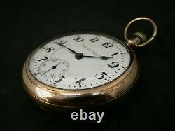 Vintage Hamilton 21Jewel 940 Railway Grade Pocket Watch Running Well