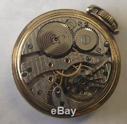 Vintage Hamilton 23J Railway Special 950B 10K GF Pocket Watch