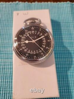 Vintage Hamilton 4992 B Navigator Pocket Watch 22 Jewel 1940's