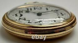 Vintage Hamilton 950 23 jewel 16s RR Railroad grade pocket watch Running