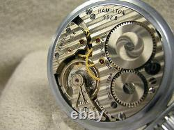 Vintage Hamilton 992B NEW OLD STOCK MINT Condition! Serviced & running fine