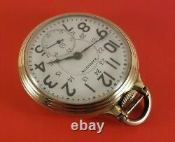 Vintage Hamilton 992B Pocket Watch 16 Size 21 Jewels GoldFill S/N C26070 Ca. 1941