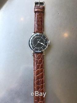 Vintage Hamilton GCT 4992b Military Pocket Watch to Wristwatch Conversion