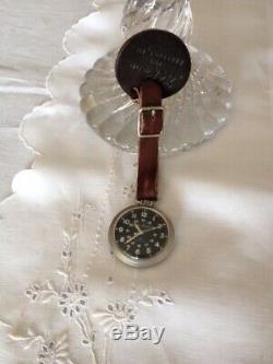 Vintage Hamilton LL. Bean Field Pocket Watch w Fob, Original Condition