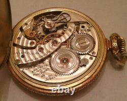 Vintage Hamilton Pocket Watch 12 size 904 Caliber 21 Jewel