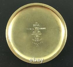 Vintage Hamilton Pocket Watch 950B 23J 16 Size S/N S15946 Ca. 1955 Ball Case