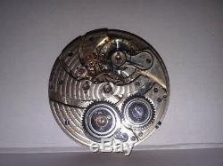 Vintage Hamilton Pocket Watch Movement 23 jewels