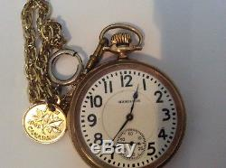 Vintage Hamilton Railroad Grade Pocket Watch