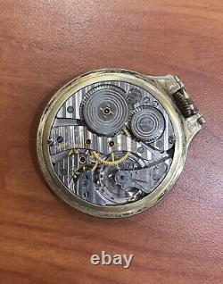 Vintage Hamilton Railway Special Pocket Watch 950B Lever Set Size 16 23Js 10KGF