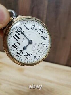 Vintage Hamilton Railway Special Pocket Watch Read