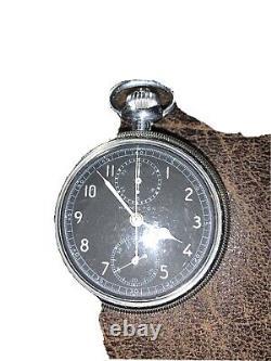 Vintage Hamilton WW2 Chronograph Navigation Chronometer Model 23