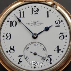 Vintage Pocket Watch BALL HAMILTON 23J OFFICIAL RAILROAD STANDARD GRO