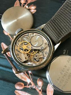 Vintage WW2 US Navy Hamilton military watch, FSSC-H3, Rare 2987 issue