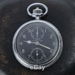 Vintage World War 2 Hamilton Military Chronograph Model 23 Navigation Watch