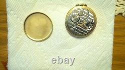 Vintage hamilton14k solid gold pocket watch 17 jewels