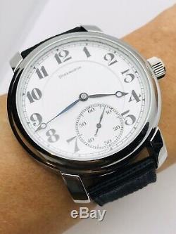 WOW 1917 Illinois 16S 21J 108 Burlington Pocket Wrist Watch Salesman Accurate