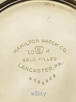 WOW MUSEUM 1951 Hamilton 950B Railway Special 16S 23J Railroad Pocket Watch
