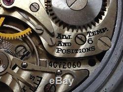 WW2 HAMILTON GCT 4992B 24 HRS. NAVIGATOR U. S ARMY POCKET WATCH/WRISTWATCH WithCASE