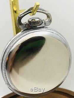 WWII 1941 Hamilton 4992B GCT 16S 22J Navigation Pocket Watch Runs