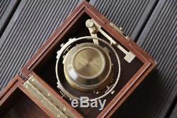 WWII Deck watch Hamilton model 22 ship's chronometer