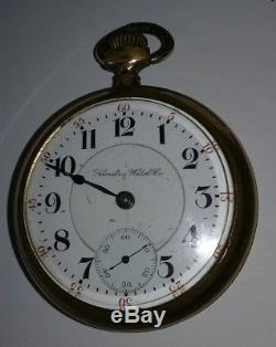 Working 1906 21 Jewel 940 Railroad Pocket Watch 505136 and Inside 232155