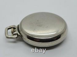 Working 1921 HAMILTON 992 Montgomery Dial RR Railroad Grade 21J Pocket Watch 16s