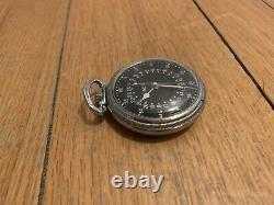 Ww2 Antique Original Hamilton Watch Co Pocket Watch AN-5740 Gct military army